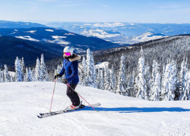 Women in Skiing – Lower Spine Alignment