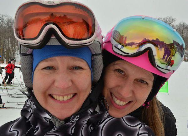 Monica Costa - Take a friend skiing