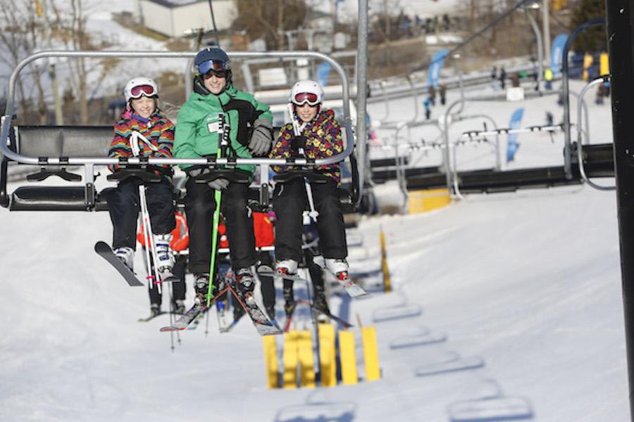 Take a ski lesson